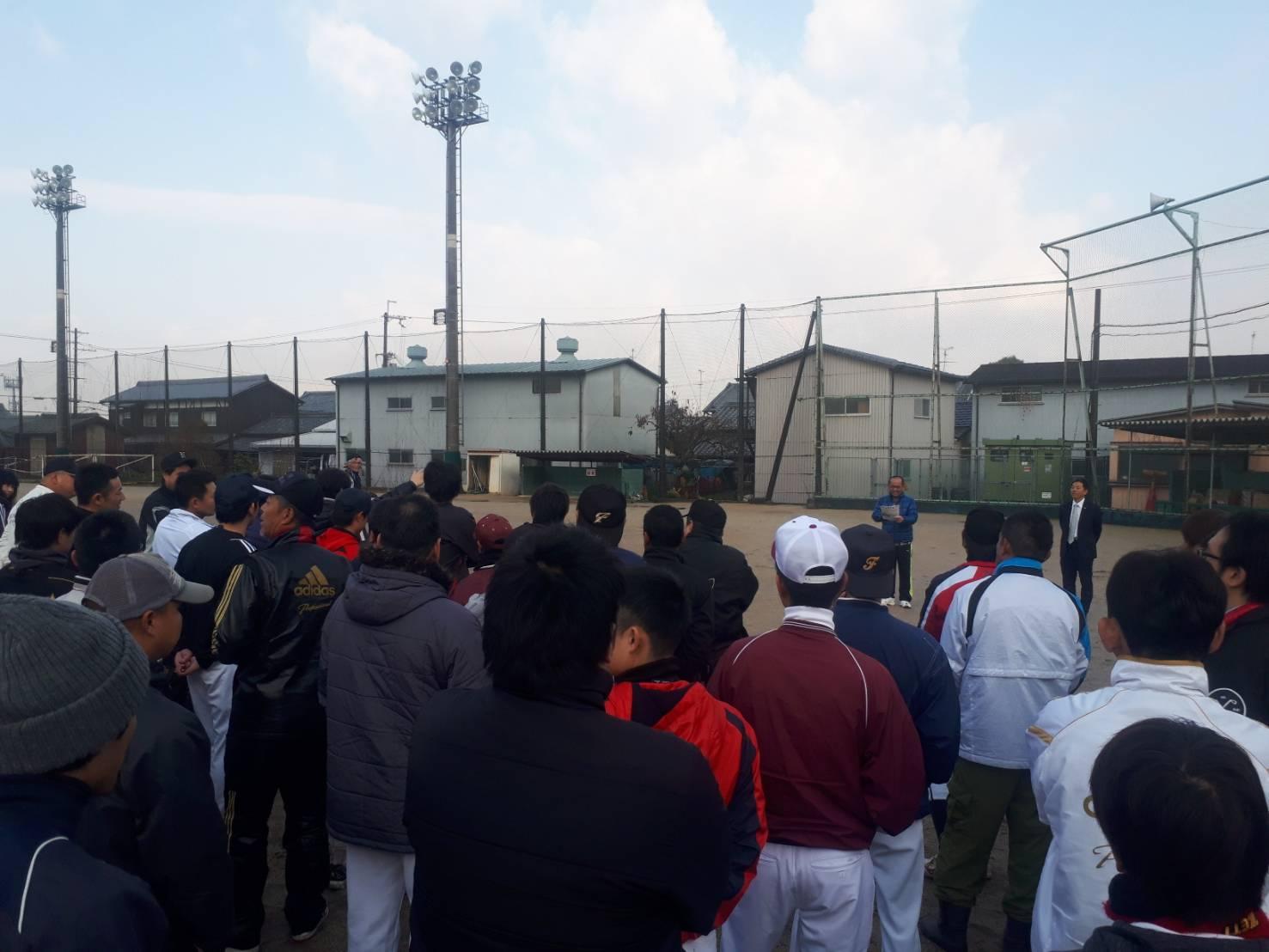 田原本ソフトボール大会・井岡杯