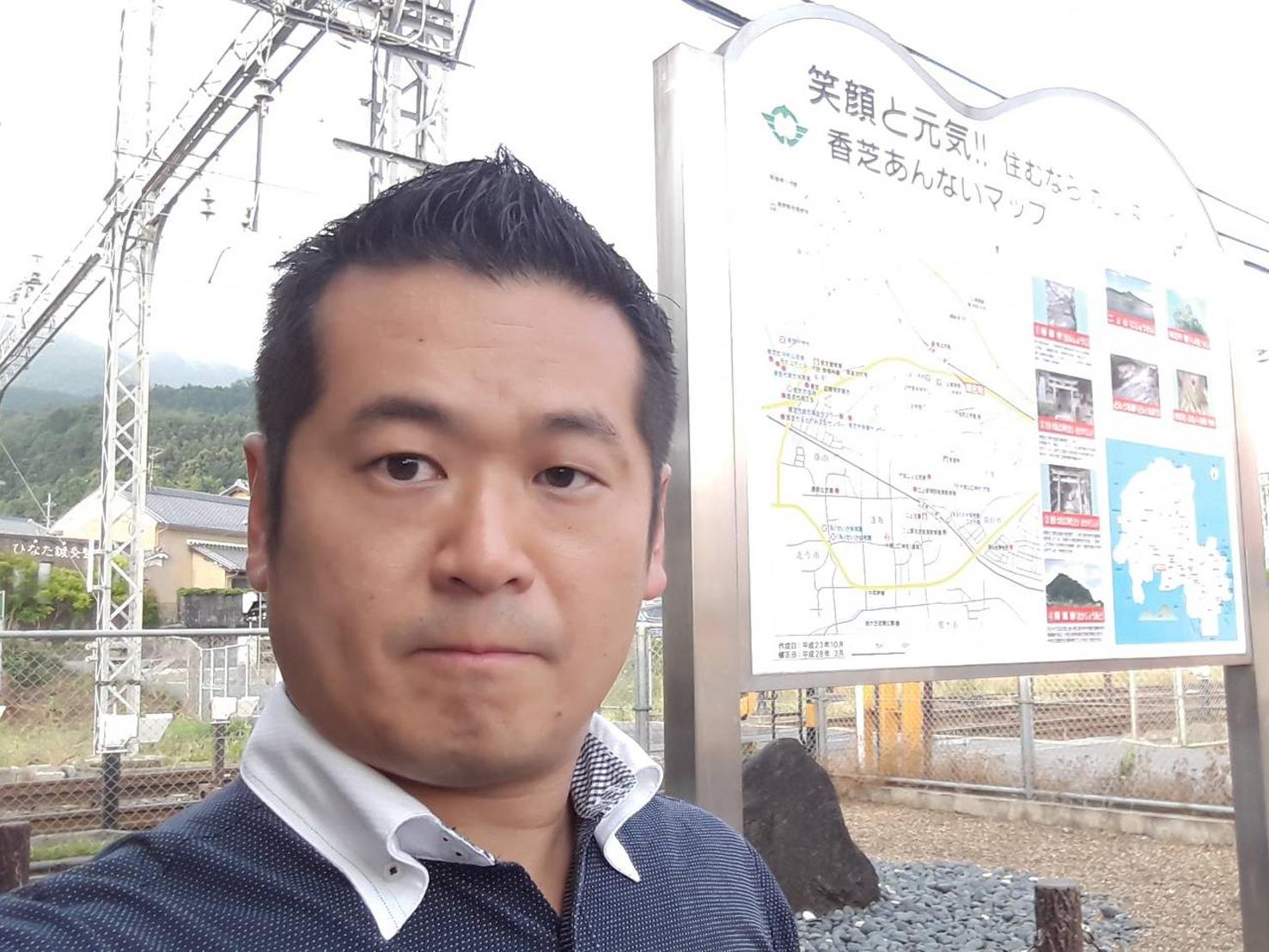 駅頭活動@近鉄南大阪線二上山駅
