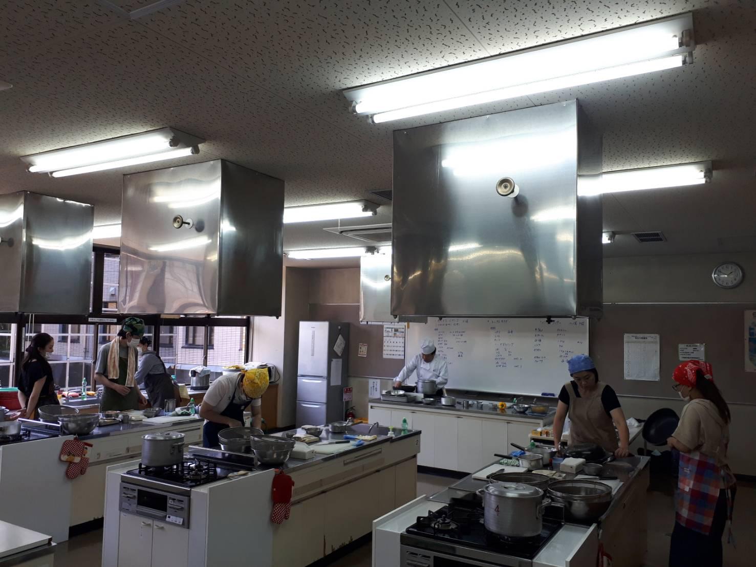 就労支援・料理教室@橿原市中央公民館