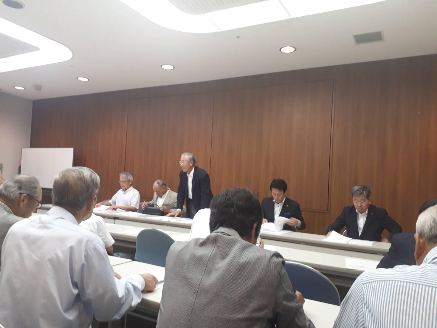 参議院選挙対策会議@ふたかみ文化センター