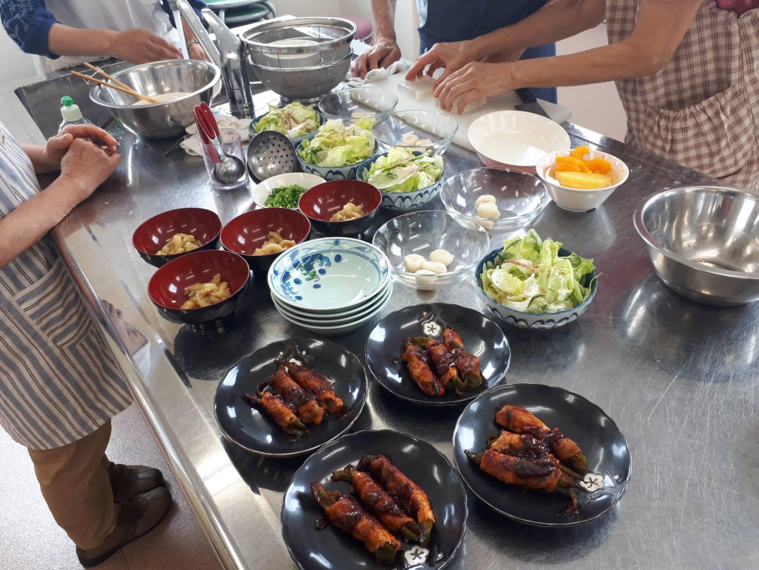 視覚障がい者・料理教室@香芝市総合福祉センター