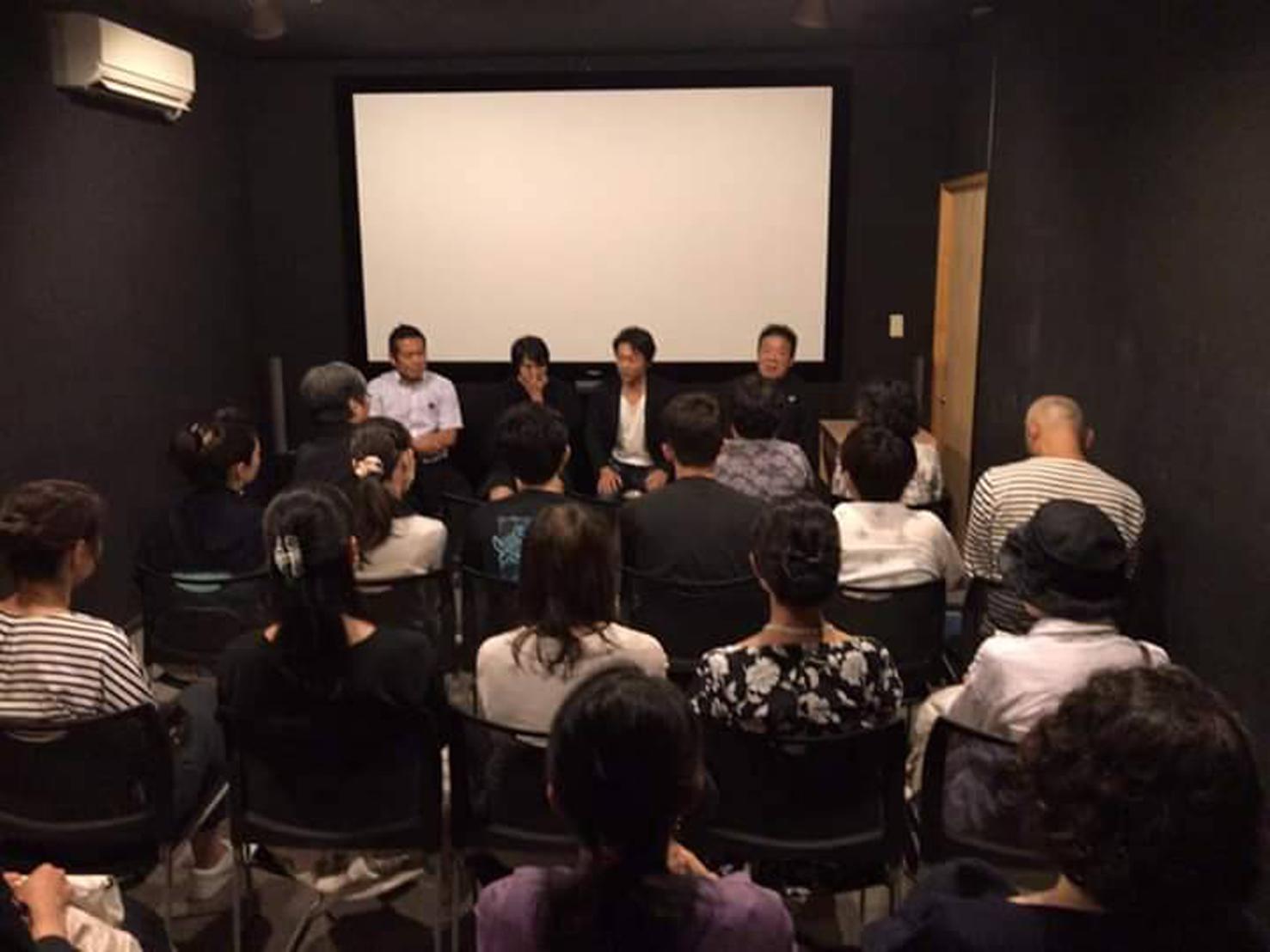 映画「かぞくわり」上映後会場を移動して奈良の食トーク@神戸・元町映画館
