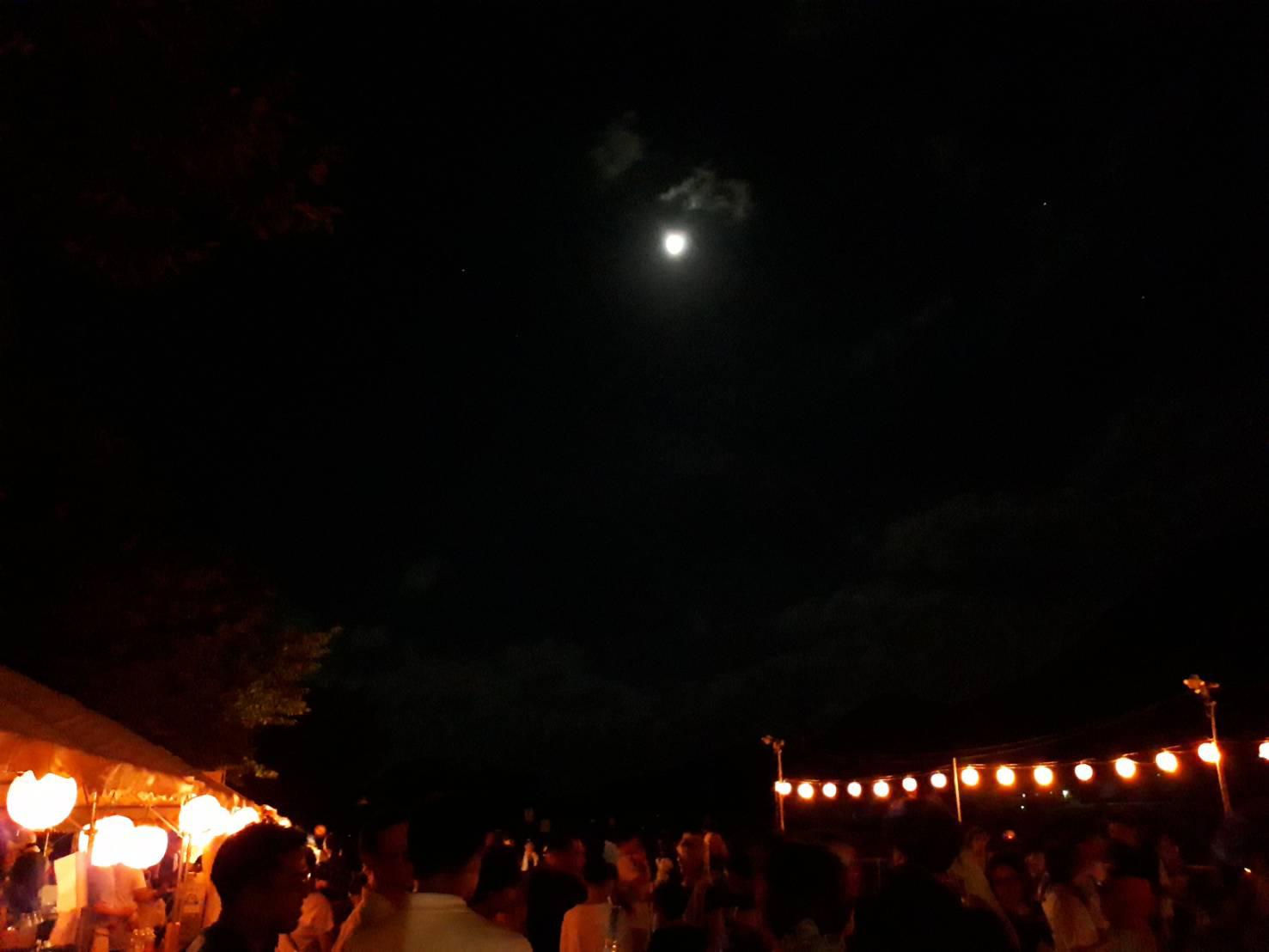 月灯りとともに