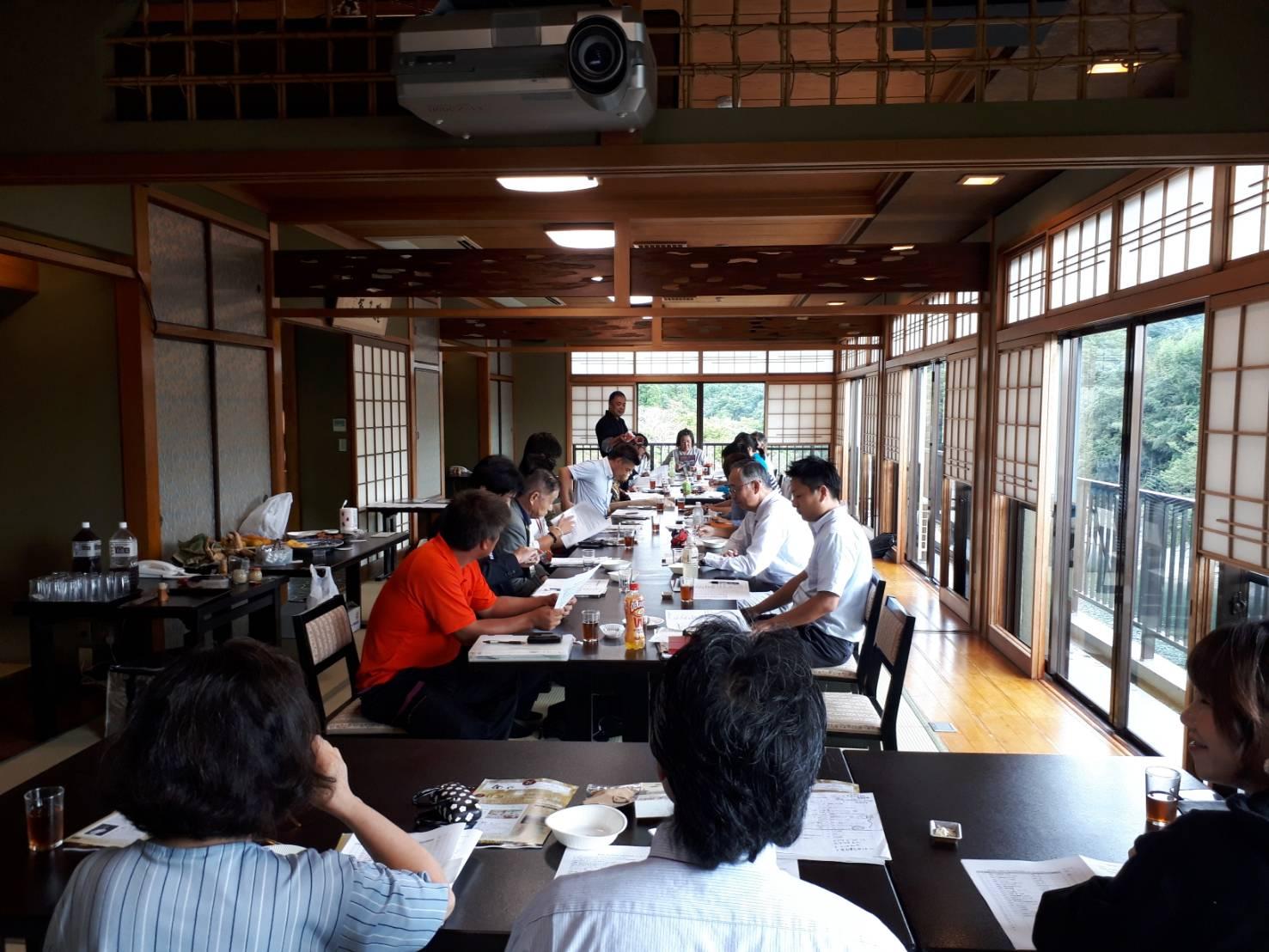 奈良のうまいもの会・定例会@よしの川