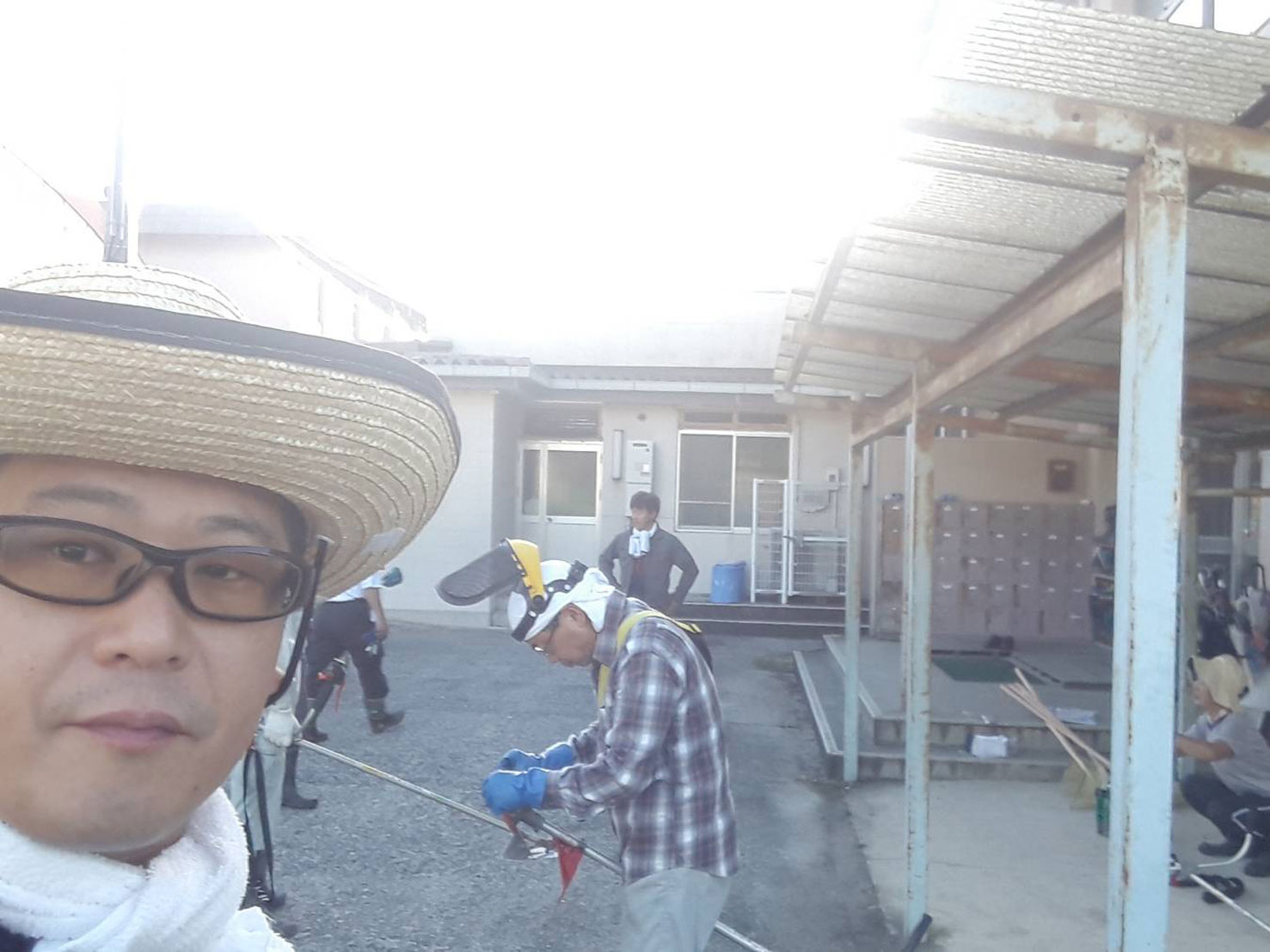 美化清掃・西中コミュニティ@香芝市立関屋小学校