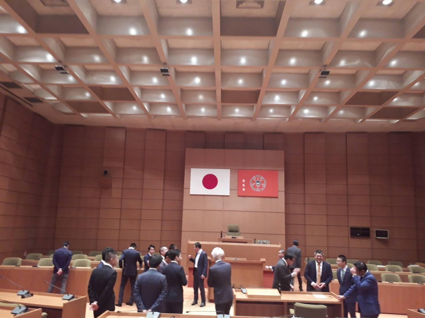 奈良研修・関西若手議員の会@奈良市議会