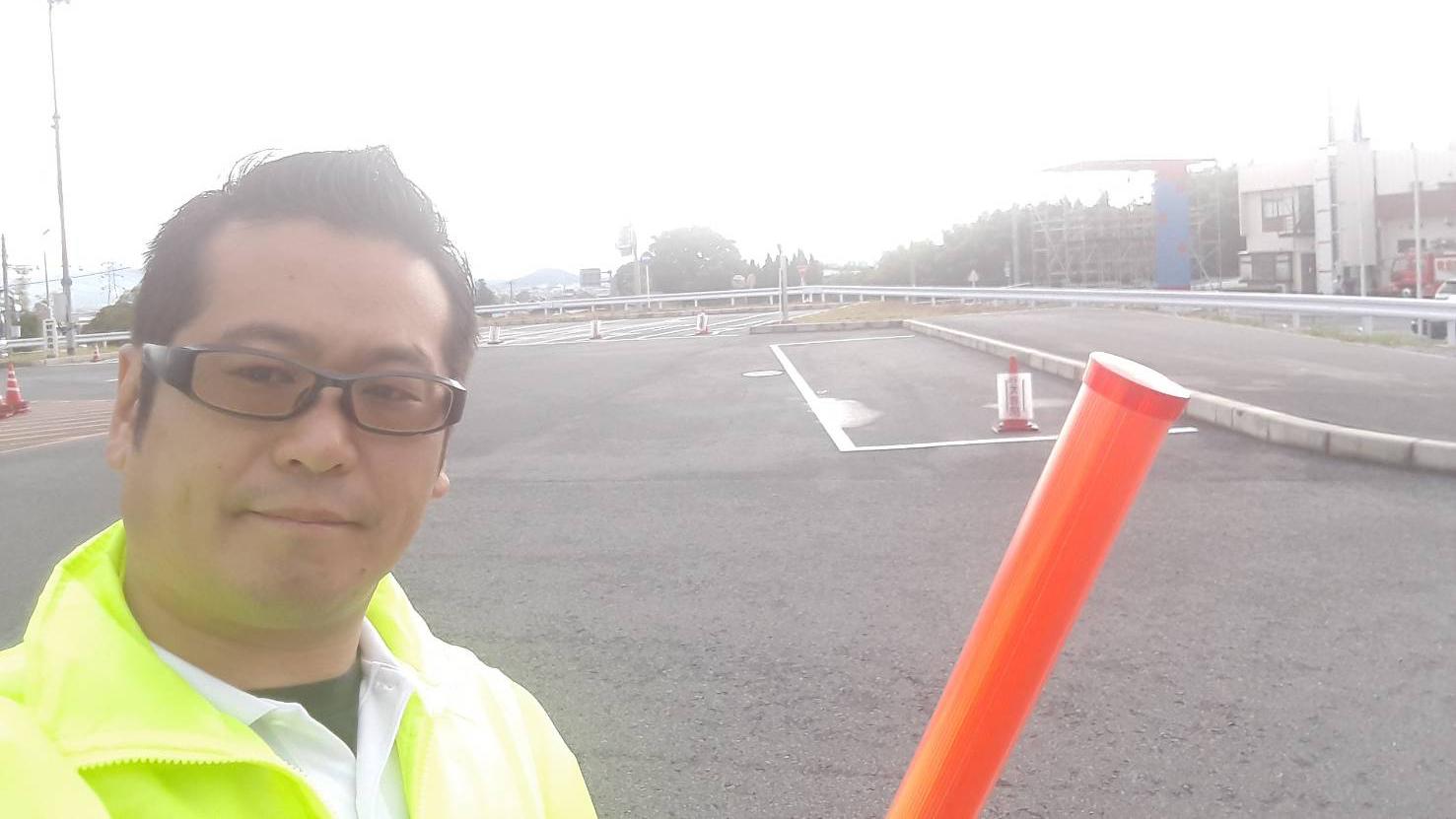 第1回かつらぎ花火大会・当日警備@道の駅かつらぎ