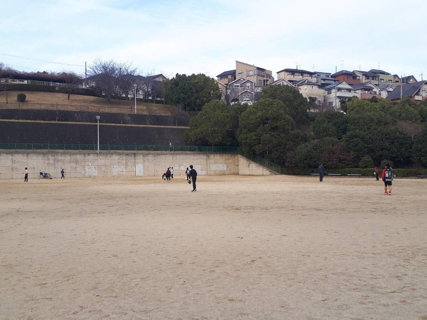 サッカー4、野球4、ラグビー1@旭ヶ丘公園