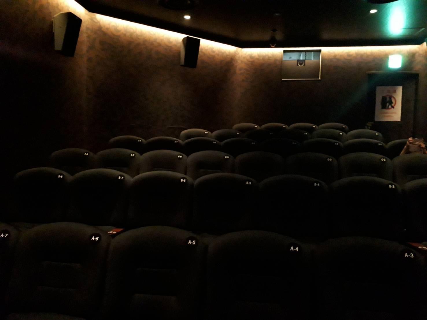 映画「かぞくわり」上映劇場下見@天王寺アポロ